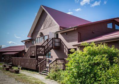 Bedrock Motel - Back Patio