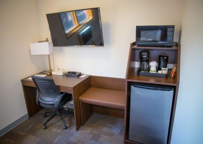 Bedrock Motel - Guestroom_Case Goods