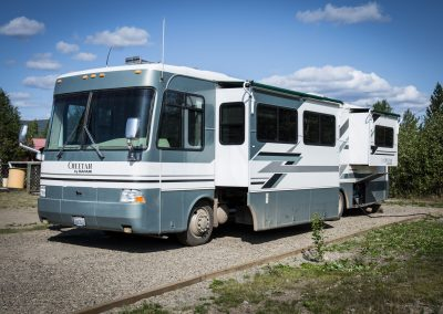 Bedrock Motel - RV lot