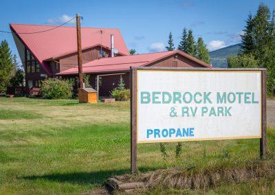 Bedrock Motel - Sign3